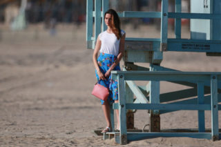 Barbara Fialho Photoshoot for Tommy Hilfiger campaign, Venice Beach