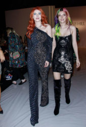 Bella Thorne and DaniThorne Leaves Sherri Hill Show at New York Fashion Week