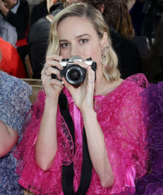 Brie Larson at Rodarte Fashion Show in San Marino