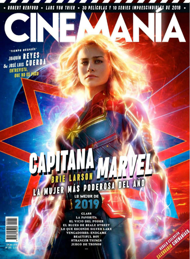 Brie Larson in Cinemania Magazine (January 2019)
