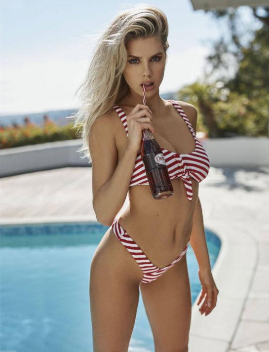 Charlotte McKinney for Guess Swimwear Spring/Summer 2019