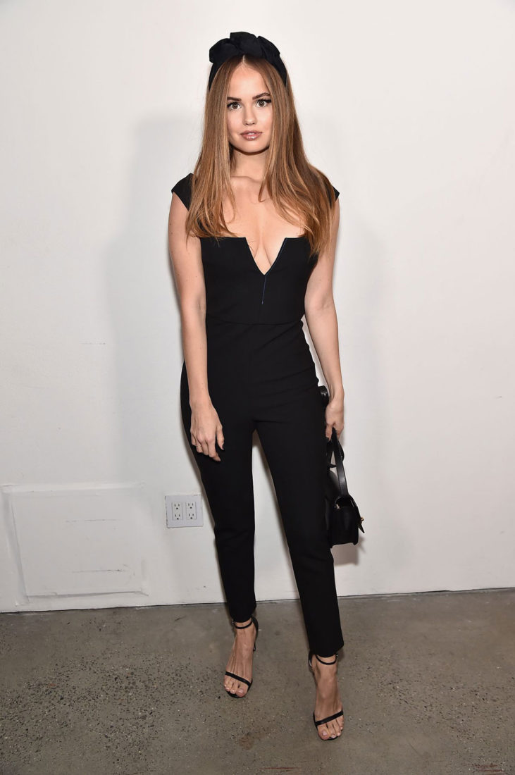 Debby Ryan at Cushnie Fashion Show at New York Fashion Week