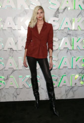 Devon Windsor at Saks Celebrates New Main Floor in New York City