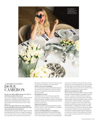 Dove Cameron in Daily Front Row Magazine (Febrauary 2019)