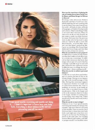 Eiza Gonzalez in Hola! US Magazine (March 2019)