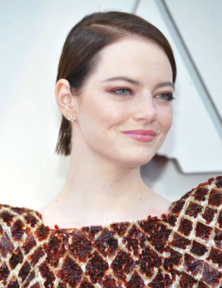 Emma Stone at Oscars 2019 in Los Angeles
