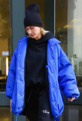 Hailey Bieber Out in New York