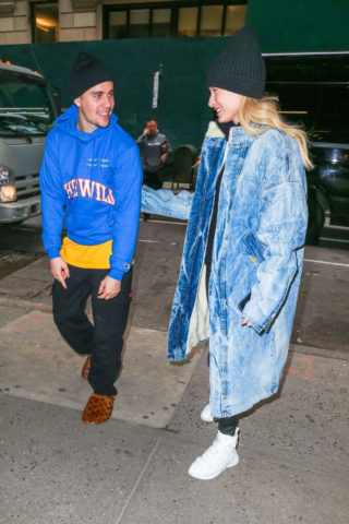 Hailey and Justin Bieber Out and About in New York