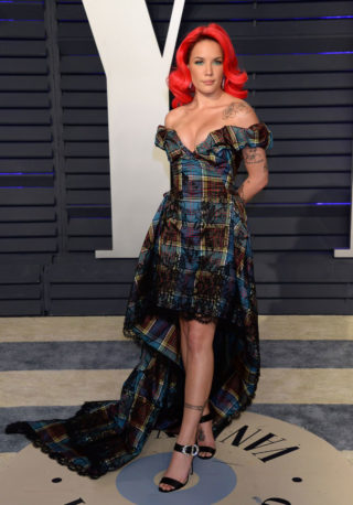 Halsey at 2019 Vanity Fair Oscar Party in Beverly Hills