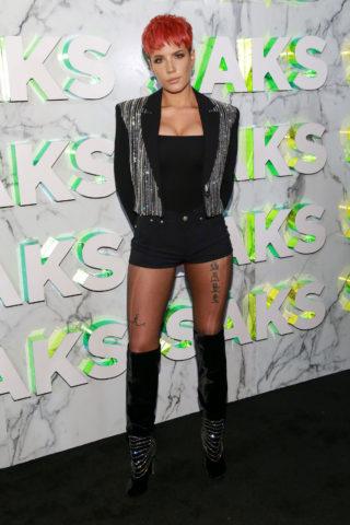 Halsey at Saks Celebrates New Main Floor in New York City