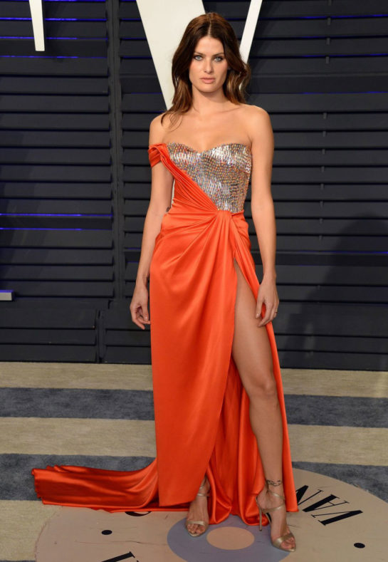 Isabeli Fontana at 2019 Vanity Fair Oscar Party in Beverly Hills