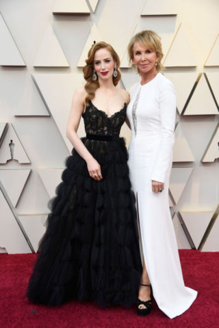 Jaime Ray Newman at Oscars 2019 in Los Angeles