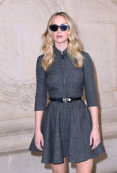 Jennifer Lawrence at Christian Dior Show at Paris Fashion Week