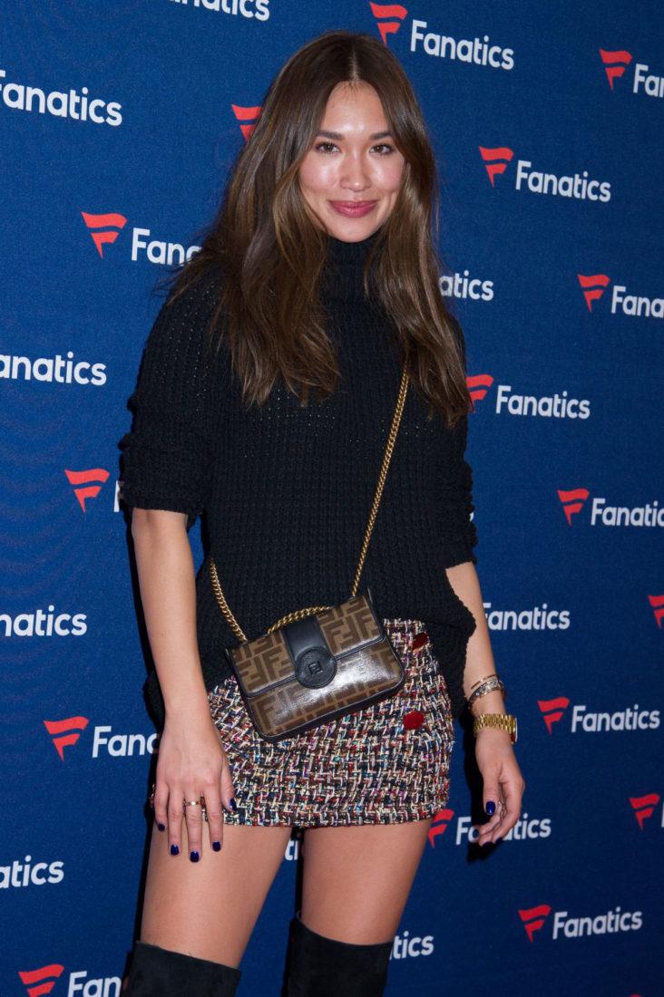 Jocelyn Chew at Fanatics Super Bowl party in Atlanta