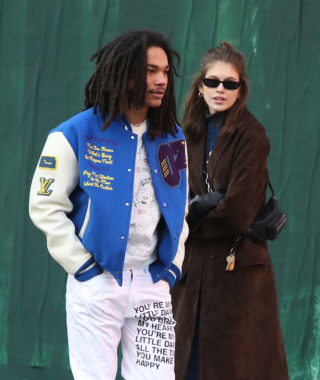 Kaia Gerber and Luka Sabbat Out in New York