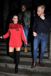 Katie Price and Kris Boyson Night Out in Liverpool