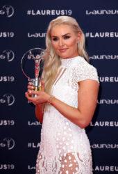 Lindsey Vonn at 2019 Laureus World Sports Awards in Monaco