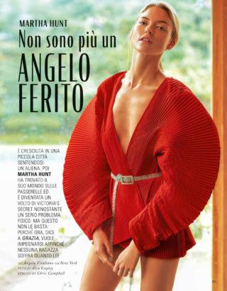 Martha Hunt in Grazia Magazine (Italy February 2019)