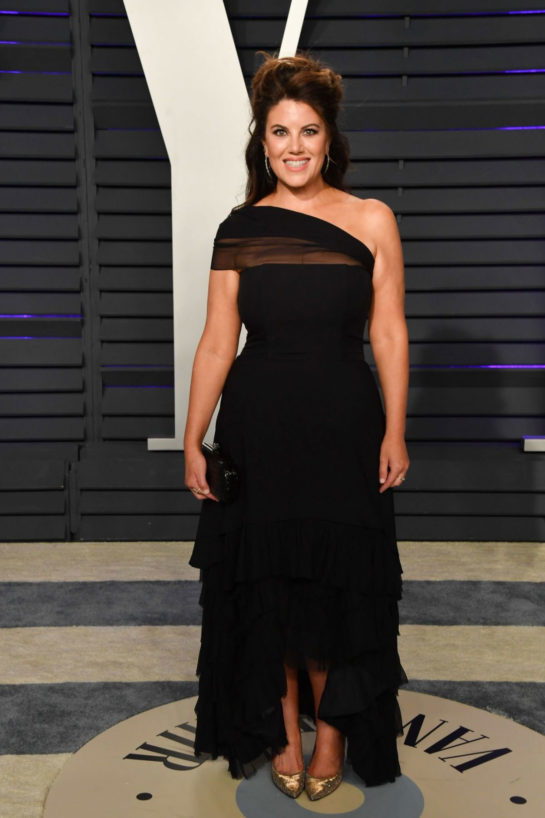 Monica Lewinsky at 2019 Vanity Fair Oscar Party in Beverly Hills