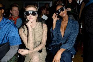Natalie Dormer at Three Fashion Fuelled at London Fashion Week