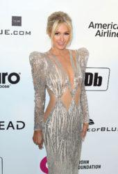 Paris Hilton at Elton John Aids Foundation Oscar Party in Hollywood