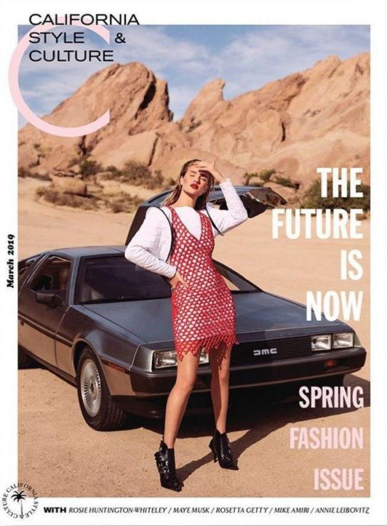 Rosie Huntington-Whiteley in C Magazine (March 2019)