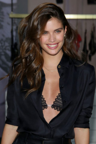 Sara Sampaio at Victoria's Secret Event in New York