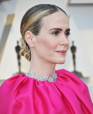 Sarah Paulson at Oscars 2019 in Los Angeles