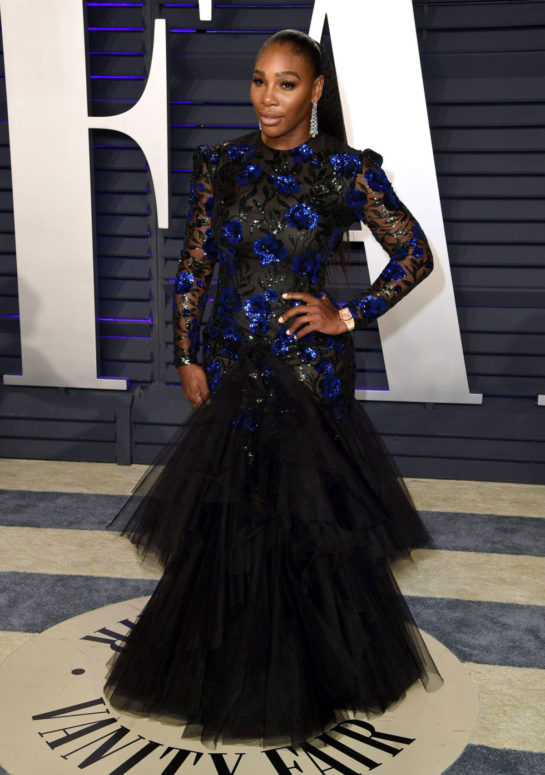 Serena Williams at 2019 Vanity Fair Oscar Party in Beverly Hills
