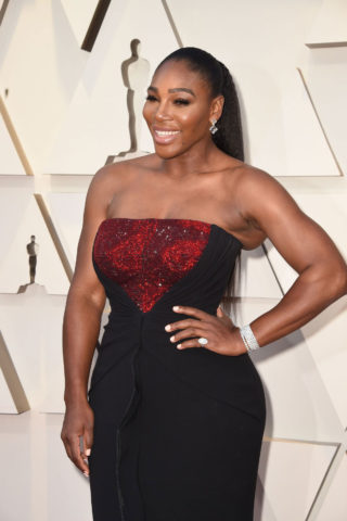 Serena Williams at Oscars 2019 in Los Angeles