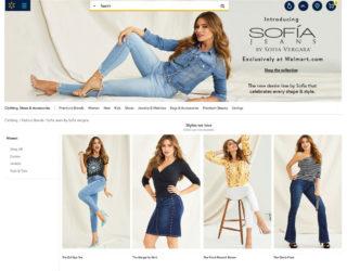 Sofia Vergara for Sofia Jeans New Collection for Walmart 2019