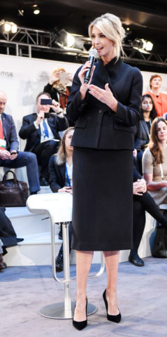 Ivanka Trump at a Panel Discussion at Munich Security Conference