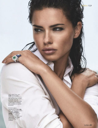 Adriana Lima in HOLA! Fashion Magazine March 2019 Issue
