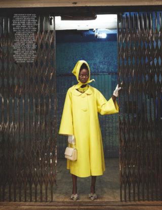 Adut Akech in Vogue Magazine (UK April 2019)