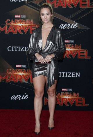 Alisha Marie at Captain Marvel Premiere in Hollywood