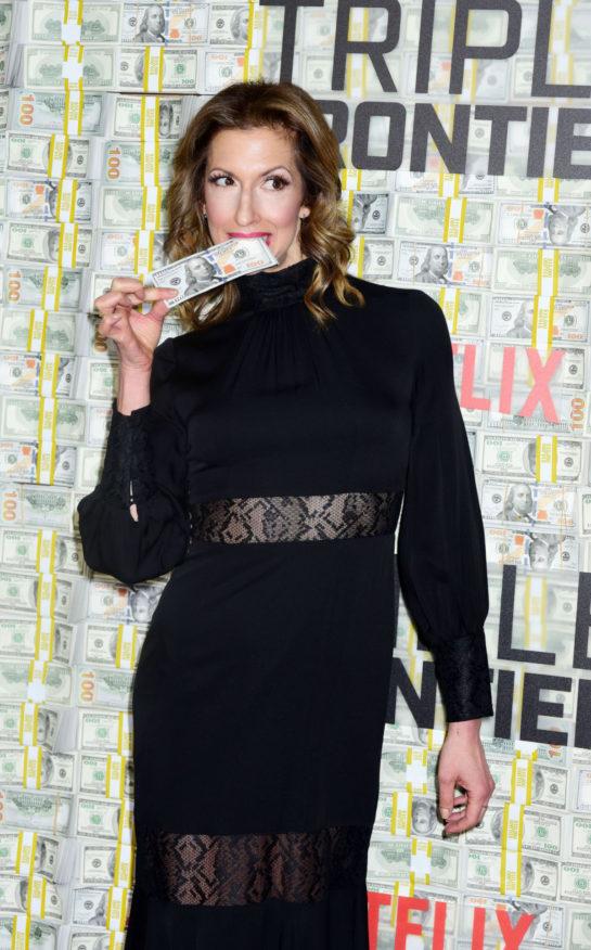 "Alysia Reiner at ""Triple Frontier"" Premiere in New York"