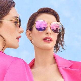 Anne Hathaway for Bolon Eyewear 2019 Campaign
