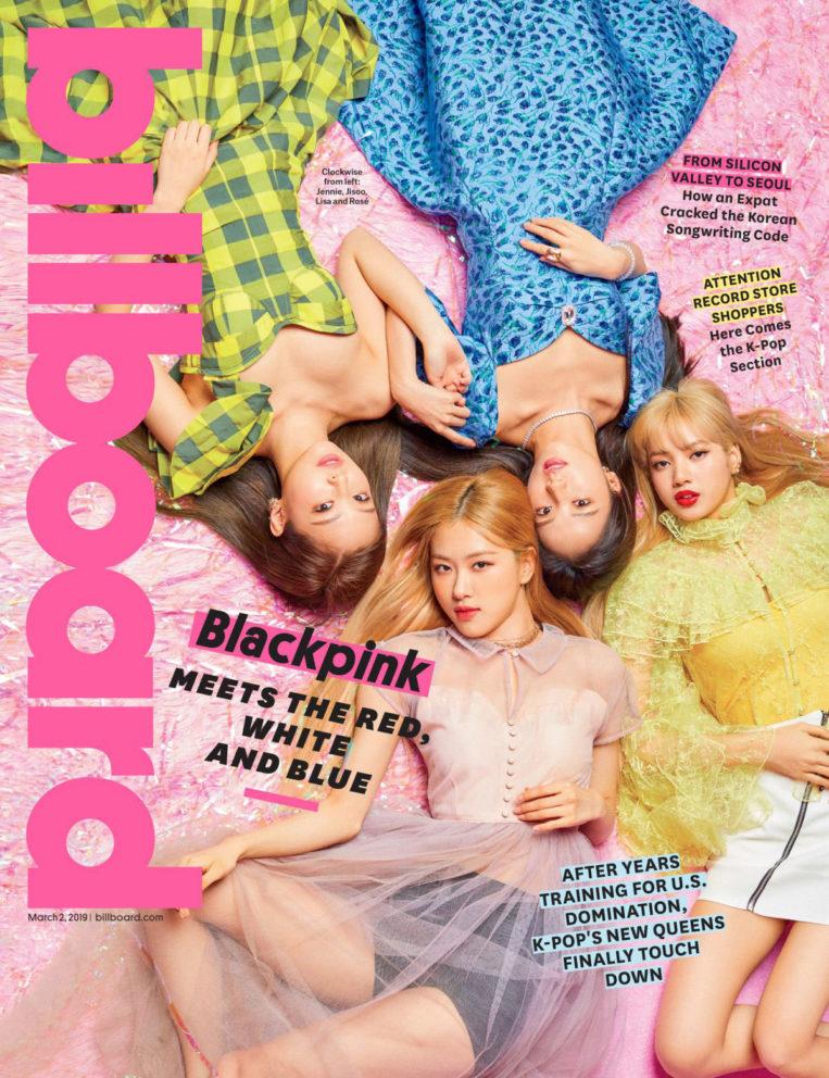 BLACKPINK for Billboard magazine (March 2019)