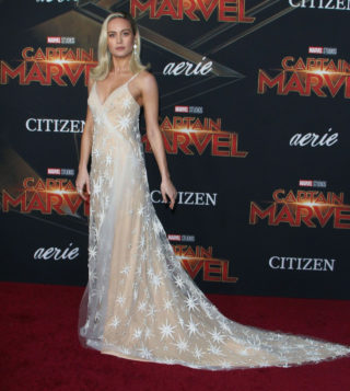 """Brie Larson at """"Captain Marvel"""" Premiere in Hollywood"""