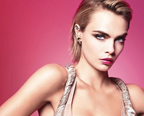 Cara Delevingne for Dior Addict Stellar Shine Lipstick, 2019