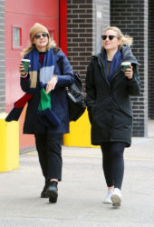 Carey Mulligan and Dianna Agron Out for Coffee in New York