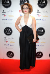 Carrie Hope Fletcher at Whatsonstage Awards 2019 in London