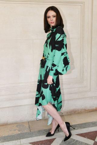 Coco Rocha at Elie Saab Fashion Show in Paris