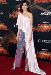 """Gemma Chan at """"Captain Marvel"""" Premiere in Hollywood"""