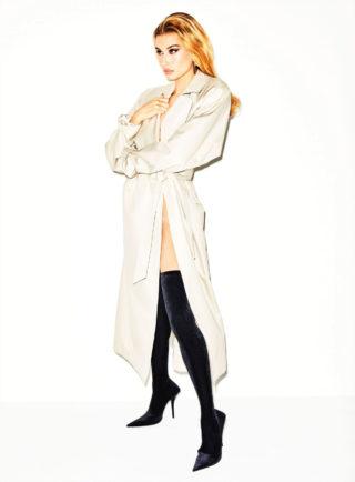 Hailey Bieber for V Magazine, Sring 2019