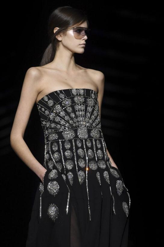 Kaia Gerber at Givenchy Runway Show During Paris Fashion Week