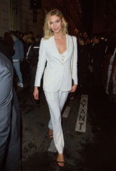 Karlie Kloss at Off-white Party in Paris