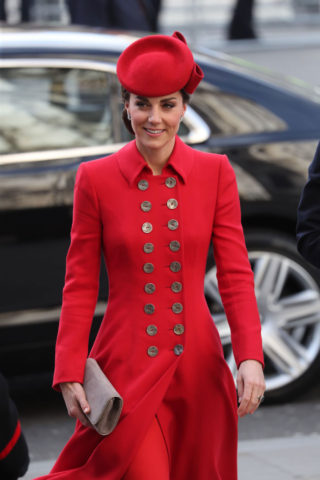 Kate Middleton at Westminster Abbey for Commonwealth Service 2019 in London