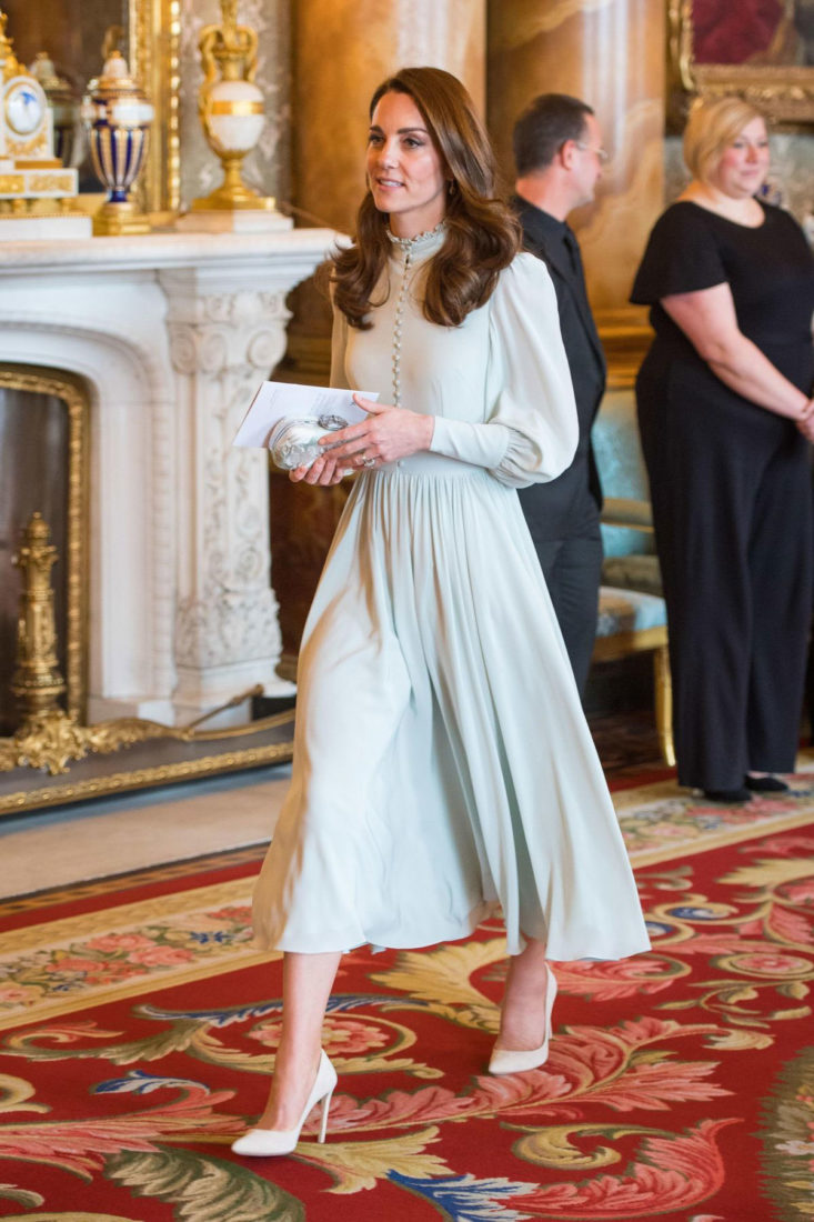 Kate Middleton at a Reception to Mark 50th Anniversary of Investiture of the Prince of Wales in London