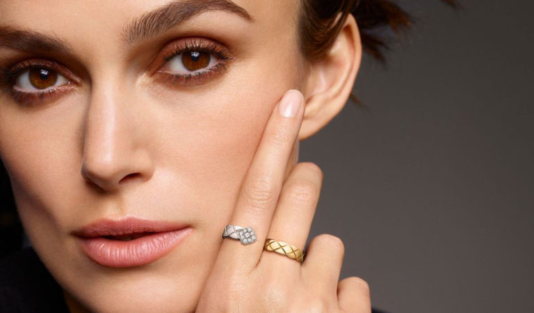 Celebrity Fashion – Keira Knightley for Chanel Coco Crush Jewelry Collection 2019